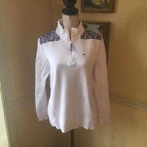 Vineyard Vines Shep pullover sweatshirt.